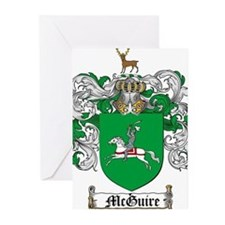 McGuire Family Crest Greeting Cards (Pk of 20)