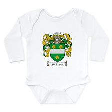 McKenna Family Crest Long Sleeve Infant Bodysuit