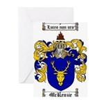McKenzie Family Crest Greeting Cards (Pk of 10)