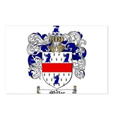 Miller Family Crest Postcards (Package of 8)