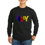 Obey The Long Sleeve Dark T-Shirt