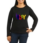 Obey The Women's Long Sleeve Dark T-Shirt