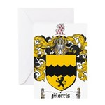 Morris Family Crest Greeting Card