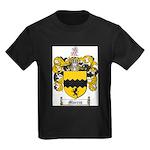 Morris Family Crest Kids Dark T-Shirt