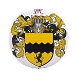 Morris Family Crest Ornament (Round)