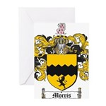 Morris Family Crest Greeting Cards (Pk of 10)