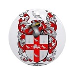 Nolan Family Crest Ornament (Round)