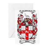 Nolan Family Crest Greeting Cards (Pk of 10)