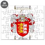 O'Brien Family Crest Puzzle