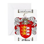 O'Brien Family Crest Greeting Cards (Pk of 20)