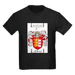 O'Brien Family Crest Kids Dark T-Shirt