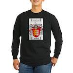 O'Brien Family Crest Long Sleeve Dark T-Shirt