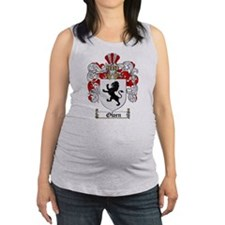 Owen Family Crest Maternity Tank Top