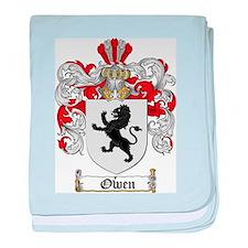 Owen Family Crest baby blanket