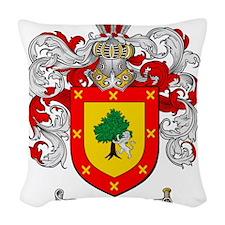 Ramirez Family Crest Woven Throw Pillow