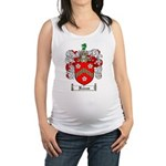 Reeves Family Crest Maternity Tank Top