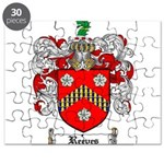 Reeves Family Crest Puzzle