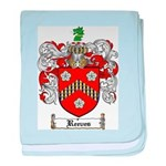 Reeves Family Crest baby blanket