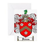 Reeves Family Crest Greeting Cards (Pk of 20)