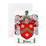 Reeves Family Crest Greeting Card