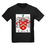 Reeves Family Crest Kids Dark T-Shirt