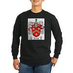 Reeves Family Crest Long Sleeve Dark T-Shirt