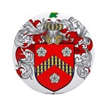 Reeves Family Crest Ornament (Round)