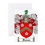Reeves Family Crest Greeting Cards (Pk of 10)