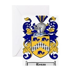 Regan Family Crest Greeting Card