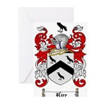 Rice Coat of Arms Greeting Cards (Pk of 20)