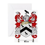 Rice Coat of Arms Greeting Card