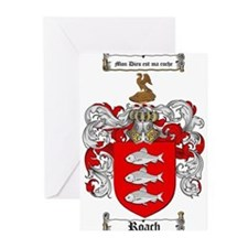 Roach Coat of Arms Greeting Cards (Pk of 20)