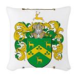 Robinson Coat of Arms Woven Throw Pillow