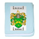 Robinson Coat of Arms baby blanket