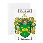 Robinson Coat of Arms Greeting Cards (Pk of 20)