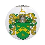 Robinson Coat of Arms Ornament (Round)