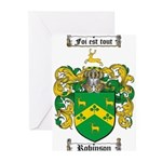 Robinson Coat of Arms Greeting Cards (Pk of 10)