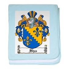 Shea Coat of Arms baby blanket
