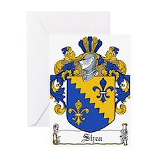 Shea Coat of Arms Greeting Card