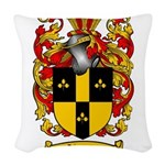 Simmons Coat of Arms Woven Throw Pillow