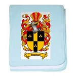 Simmons Coat of Arms baby blanket