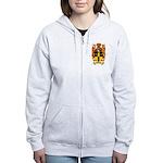 Simmons Coat of Arms Women's Zip Hoodie