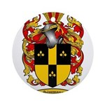 Simmons Coat of Arms Ornament (Round)