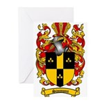 Simmons Coat of Arms Greeting Cards (Pk of 10)