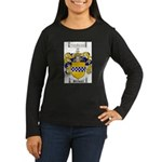 Stewart Coat of Arms Women's Long Sleeve Dark T-Sh