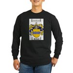 Stewart Coat of Arms Long Sleeve Dark T-Shirt