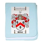 Walsh Coat of Arms baby blanket