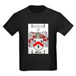 Walsh Coat of Arms Kids Dark T-Shirt