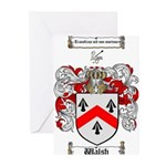 Walsh Coat of Arms Greeting Cards (Pk of 10)