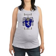 jones coat of arms Maternity Tank Top